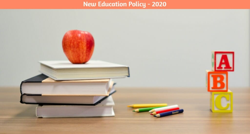 New Education Policy 2020   Curative Artist